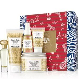 BRAND NEW Origins Ginger Pleasures 5-Item Gift Set